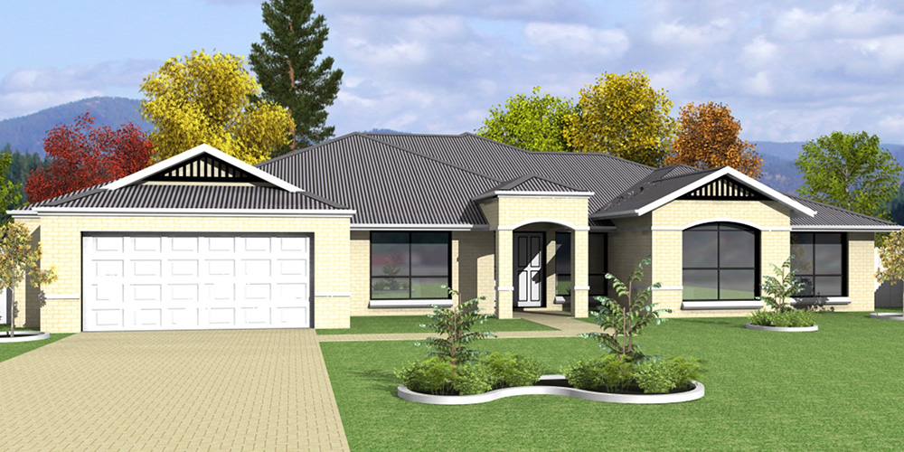 Affordable Quality Homes Clifton 4 Bedroom Floor Plan Rockhampton