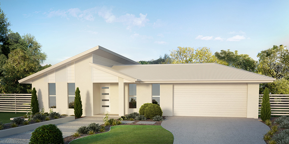Affordable Quality Homes Levitt 4 Bedroom Floor Plan Rockhampton