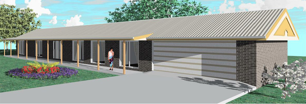 Affordable Quality Homes Ranchstyle House Plan Rockhampton