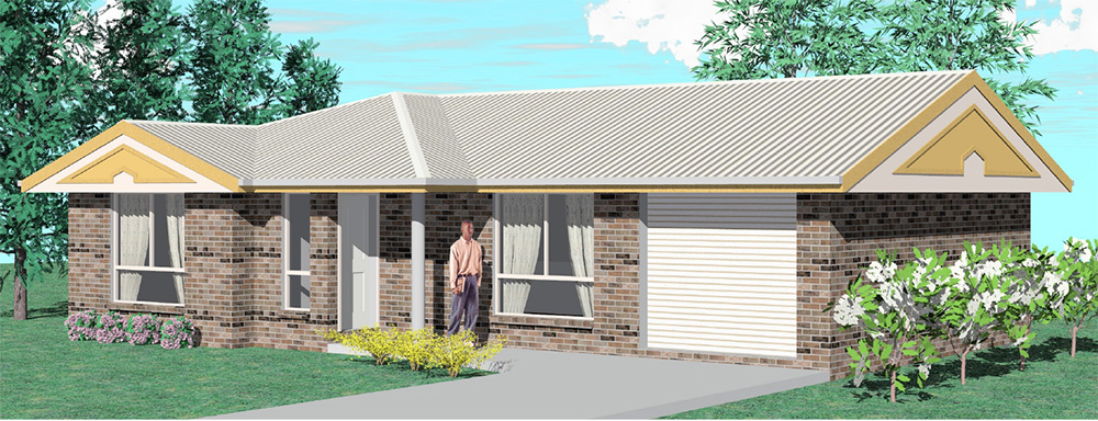 Affordable Quality Homes Whittaker 3 Bedroom Floor Plan Rockhampton